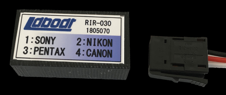 赤外線カメラリモコン RIR-030